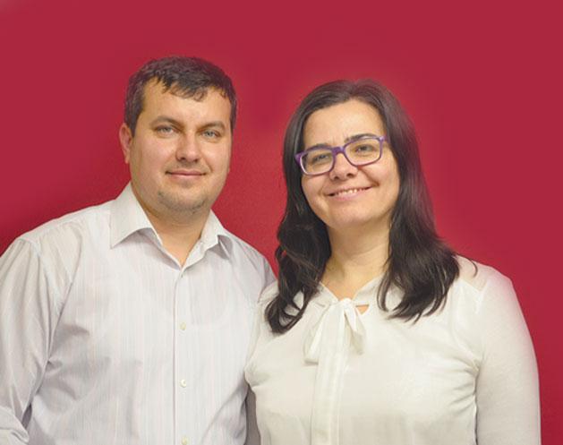 Daniel și Carmen Leonte